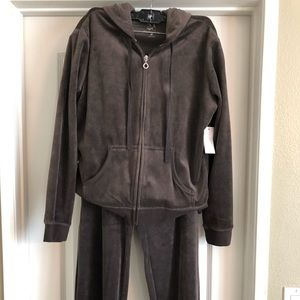 NY&CO Women's Velour Track Suit